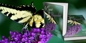 I choose to Remember book and butterfly
