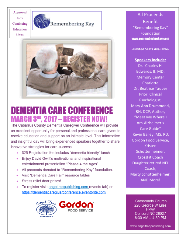 Cabarrus Caregiver Conference Flyer
